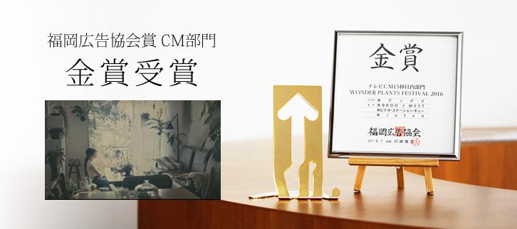 グッデイTVCM 福岡広告協会賞 CM部門『金賞』受賞